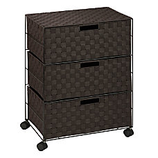 Honey Can Do 3 Drawer Wheeled