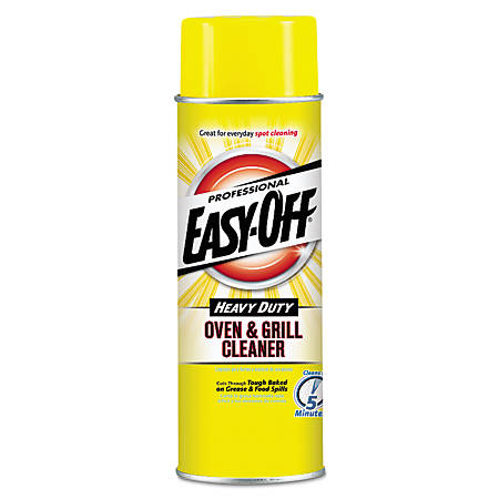 Easy-Off® Oven & Grill Cleaner, 24 Oz, Carton Of 6