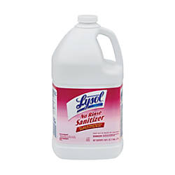 Lysol Professional Concentrated No Rinse Sanitizer