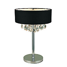 Elegant Designs Romazzino Cascading Crystal Table