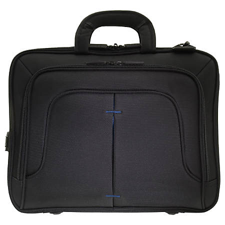 """ECO STYLE Tech Pro Carrying Case for 16.1"""" Notebook - Blue"""