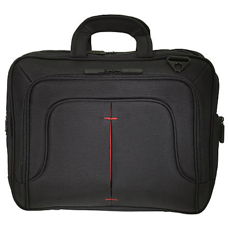 """ECO STYLE Tech Pro Carrying Case for 16.1"""" Notebook - Red"""