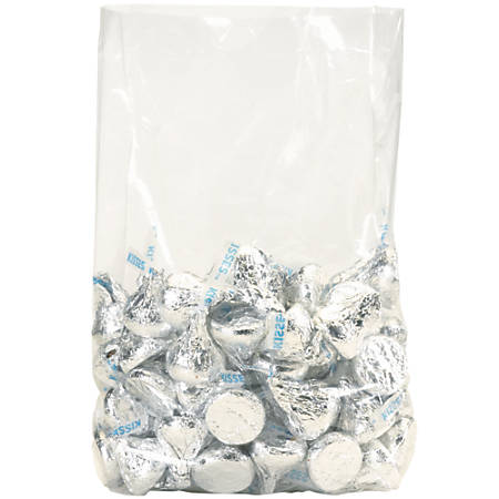 """Office Depot Brand 3 Mil Gusseted Poly Bags 10"""" x 8"""" x 24"""", Box of 500"""