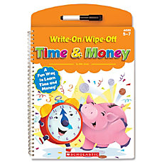 Scholastic Write OnWipe Off Book Time