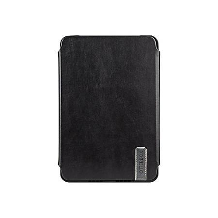 OtterBox Symmetry Carrying Case (Folio) Apple iPad mini 4 Tablet - Black Night - Drop Resistant, Scratch Resistant