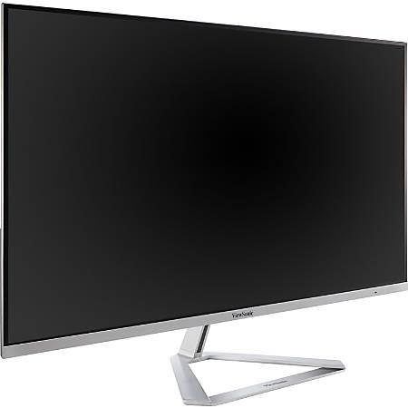 """Viewsonic VX3276-4K-MHD 31.5"""" 4K UHD WLED LCD Monitor - 16:9 - Silver - MVA technology - 3840 x 2160 - 16.7 Million Colors - 300 Nit - 3 ms GTG (OD) - 2 Speaker(s) - HDMI - DisplayPort - Mini DisplayPort"""