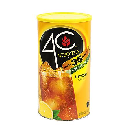 4C Lemon Iced Tea Mix, 5.49 Lb