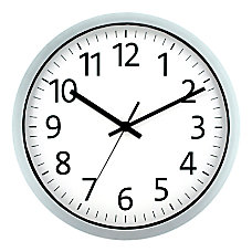 Realspace Round Wall Clock 12 Spray