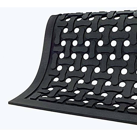 Comfort Flow Mat, 4' x 6', Black