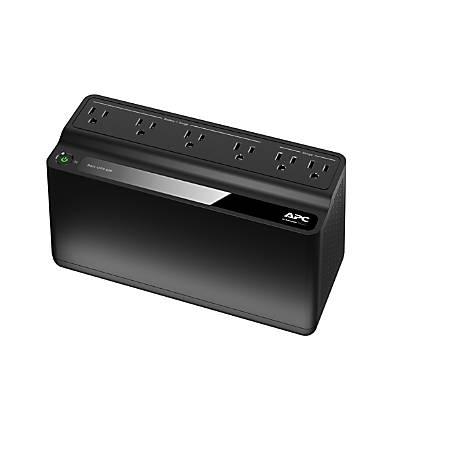 APC Back-UPS BE425M Battery Backup, 6 Outlet, 425VA/255W Item # 302297