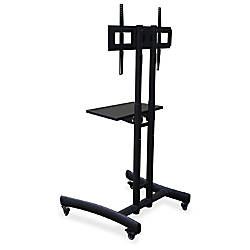 Lorell Flat Screen Mobile Display Cart
