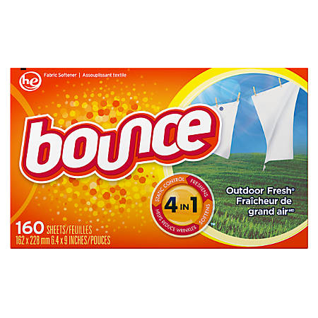 Bounce® Fabric Softener Sheets, Box Of 160