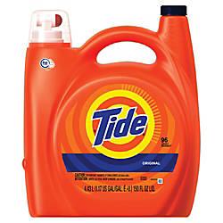 Tide HE Turbo Clean Liquid Laundry
