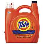 Tide HE Turbo Clean Liquid Laundry Detergent, Original Scent, 150 Oz