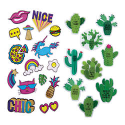 Office Depot Brand Puffy Stickers Assorted