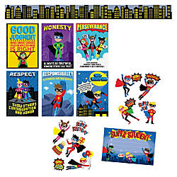 Creative Teaching Press Superhero Bulletin Brd