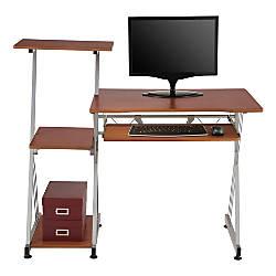 Brenton Studio Limble Computer Desk Cherry