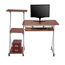 Brenton Studio Limble Computer Desk Cherry