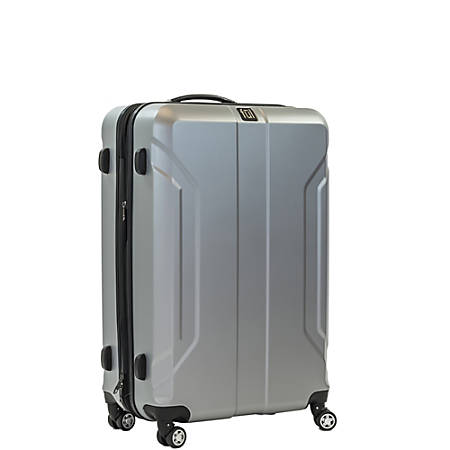 """ful Payload ABS Upright Rolling Suitcase, 24""""H x 17 3/8""""W x 11""""D Silver"""