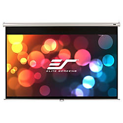 Elite Home Series M84NWV Projection Screen