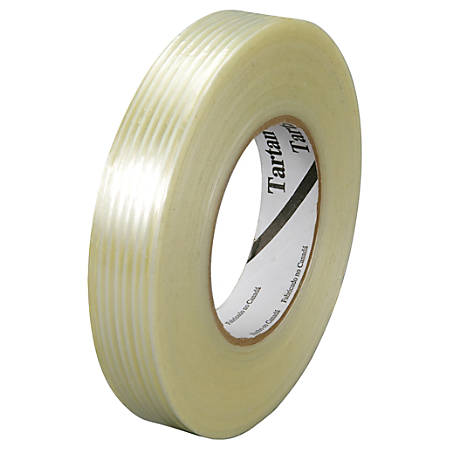 """3M™ 8932 Strapping Tape, 3"""" Core, 0.75"""" x 60 Yd., Clear, Case Of 12"""