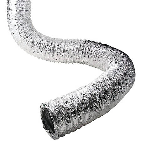 "Lambro 650 / Af450Ul Aluminum Flex Ducting- 50 Ft - 4"" Diameter"