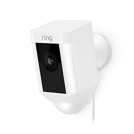 Ring Spotlight Cam Wired, White