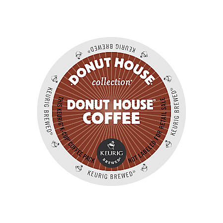 Donut House Collection® Light Roast Coffee K-Cups®, 3 Oz, Box Of 24