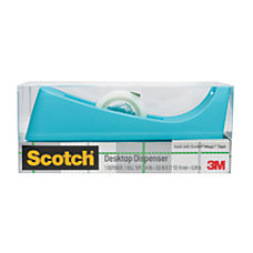 Scotch Desk Tape Dispenser 100percent Recycled