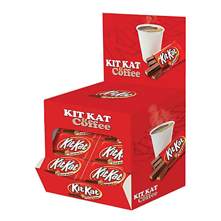 Kit Kat® Power Wing Wafer Bars, 1.5 Oz, Pack Of 72 Bars