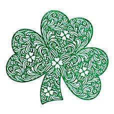 Amscan St Patricks Day Vinyl Shamrock