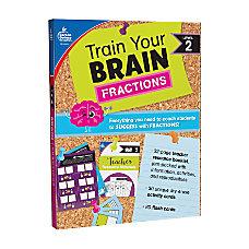 Carson Dellosa Train Your Brain Fractions