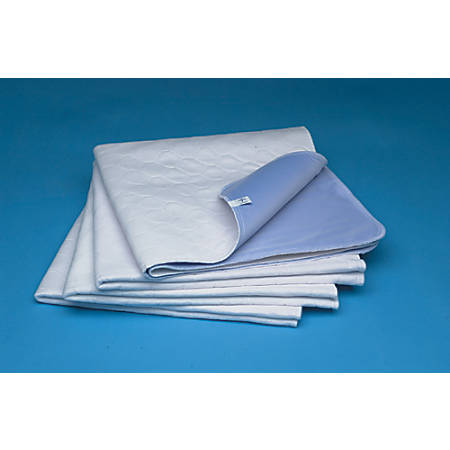 "Sahara® Extra-Absorbent Underpads, 34"" x 36"", Blue, Case Of 12"