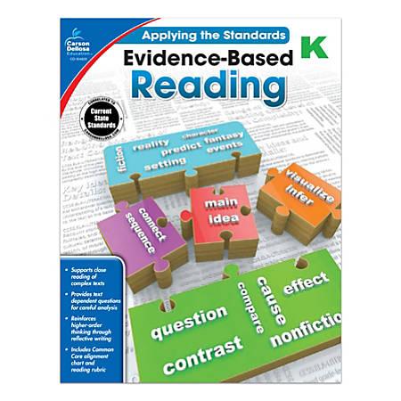 Carson-Dellosa™ Evidence-Based Reading Workbook, Grade K