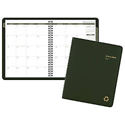 AT A GLANCE Monthly Planner 6
