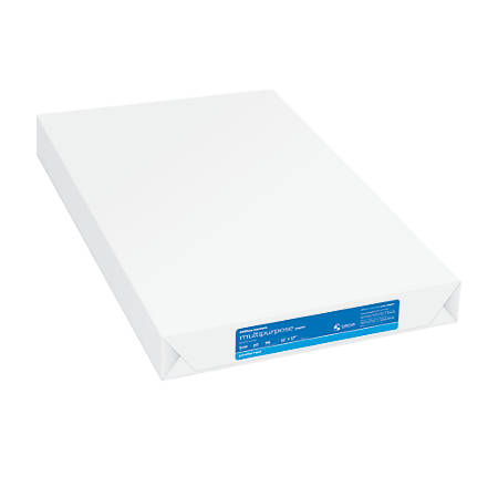 Office Depot® Brand Multipurpose Paper, Ledger Paper, 96 Brightness, 20 Lb, Ream Of 500 Sheets