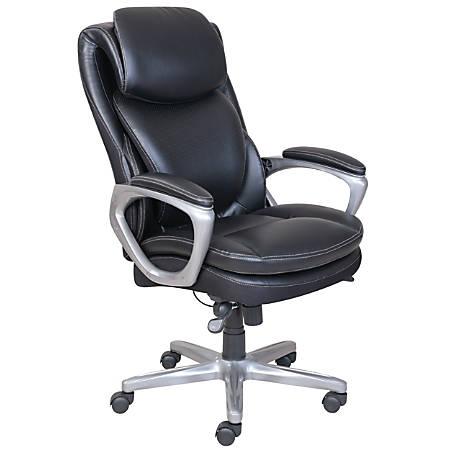 Serta Smart Layers Air Arlington Chair Black Office Depot