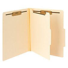 Smead Manila Classification Folders 1 Divider