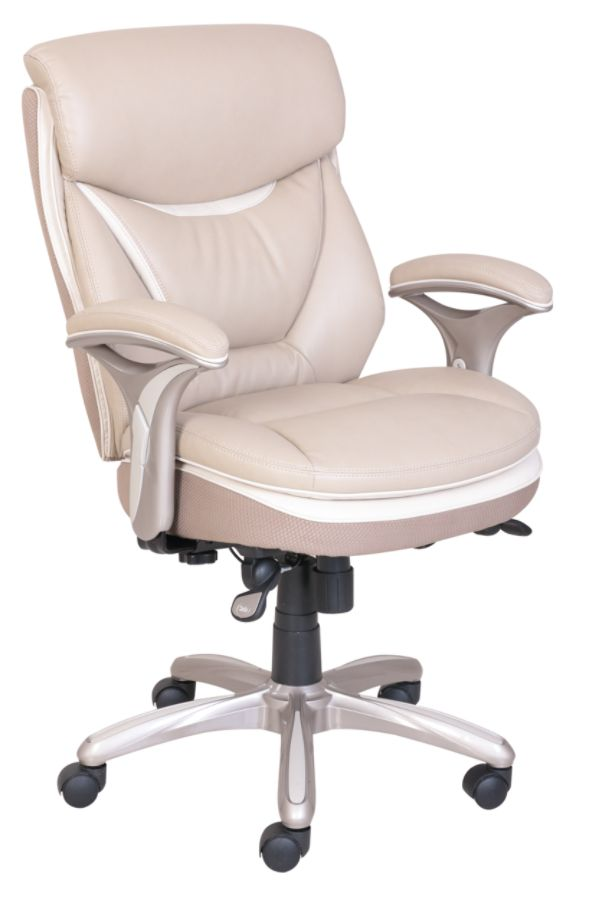 Serta® Smart Layers™ Verona Manager Chair, Taupe/Champagne