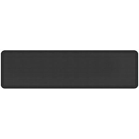 "GelPro NewLife Designer Comfort Grasscloth Anti-Fatigue Floor Mat, 20"" x 72"", Charcoal"