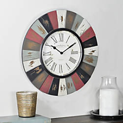 FirsTime Reclaimed Burst Wall Clock 13