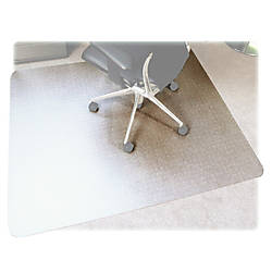 Floortex Polycarbonate Rectangular Chair Mat For
