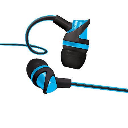 Bytech Vibrant Earbuds, Blue, BYAUEB132BL