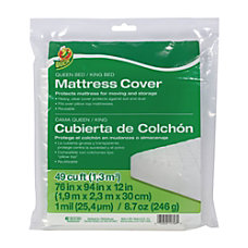Duck Mattress Cover QueenKing 76 H