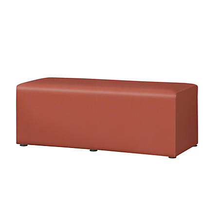 "Marco Rectangle Bench, 16""H, British Tan"
