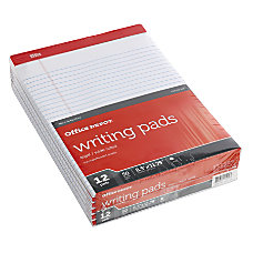 Office Depot Perforated Writing Pads 8