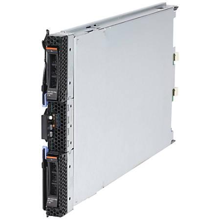 Lenovo BladeCenter HS23E 8038C2U Blade Server - 1 x Intel Xeon E5-2430 Hexa-core (6 Core) 2.20 GHz - 12 GB Installed DDR3 SDRAM - Serial ATA/300 Controller - 0, 1 RAID Levels