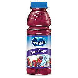 Ocean Spray Pepsico Cran Grape Juice