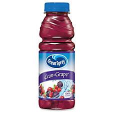 Ocean Spray Pepsico Cran Grape Juice