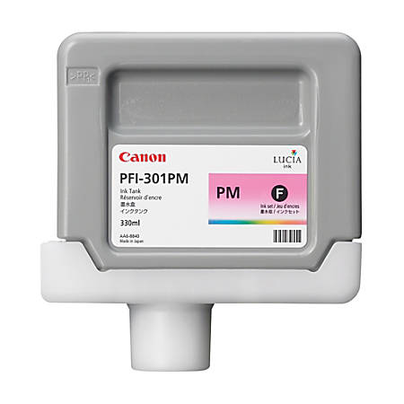 Canon PFI-301PM Photo Magenta Ink Cartridge (1491B001AA)